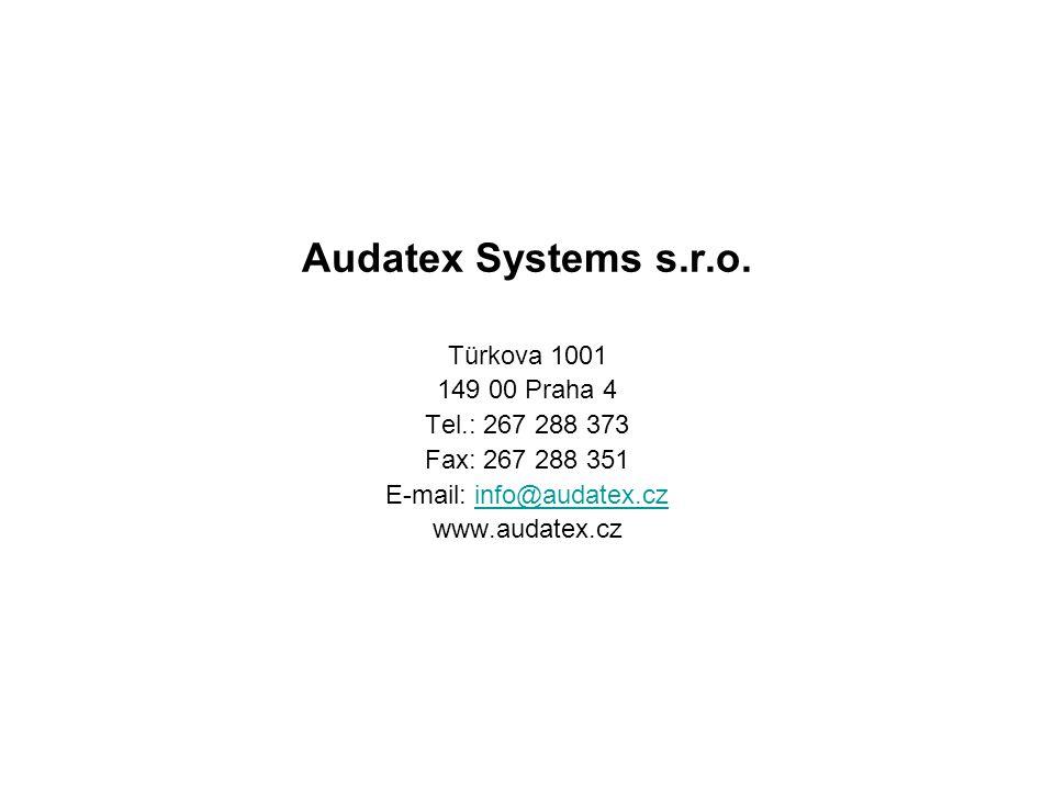 E-mail: info@audatex.cz