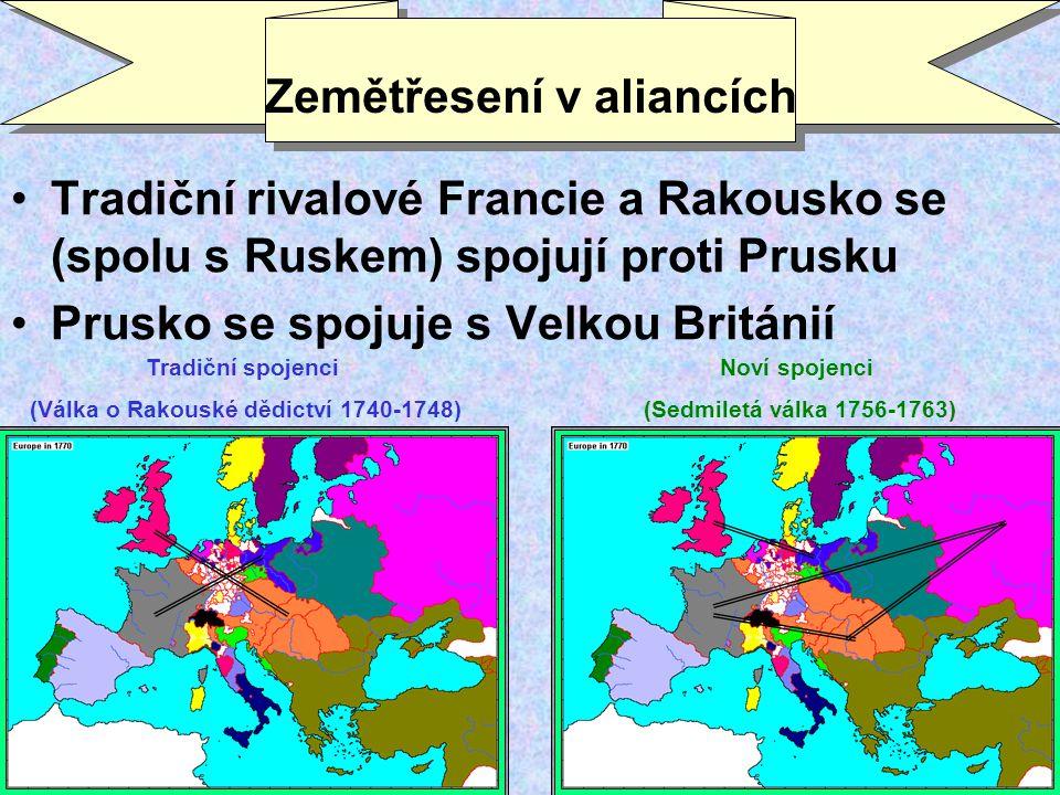Zemětřesení v aliancích
