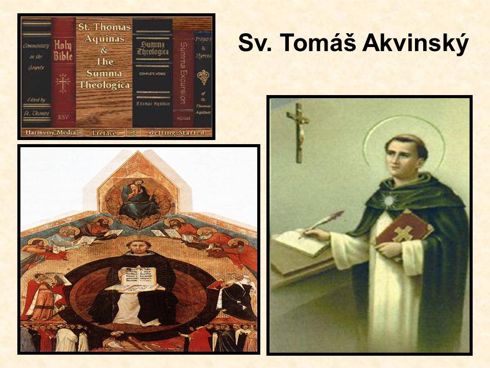 Sv. Tomáš Akvinský