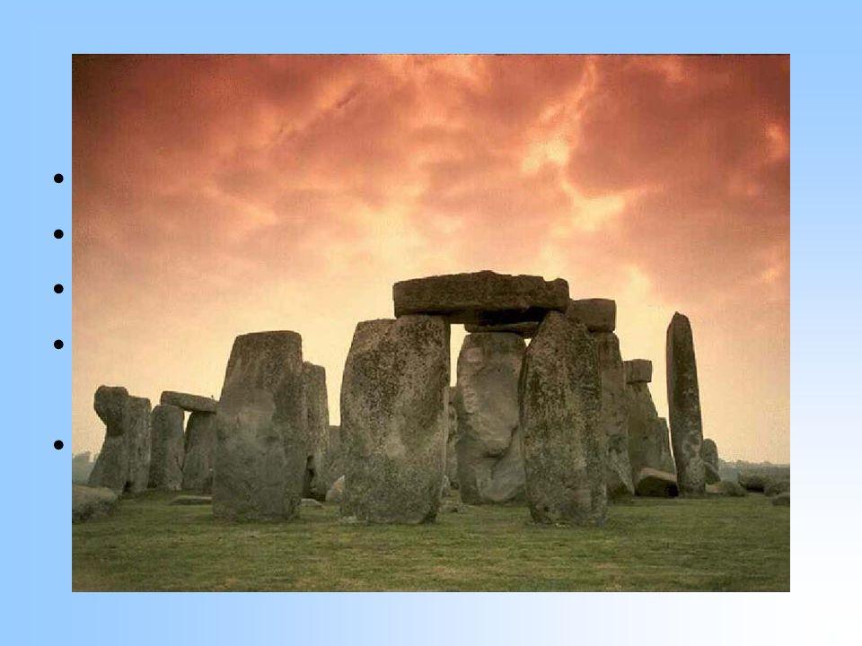 Stonehenge Jižní Anglie Dokončeno přibližně 1400 BC Veliká záhada