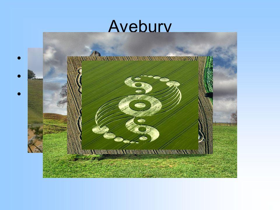 Avebury Jižní Anglie Záhady – kruhy v obilí, UFO apod.
