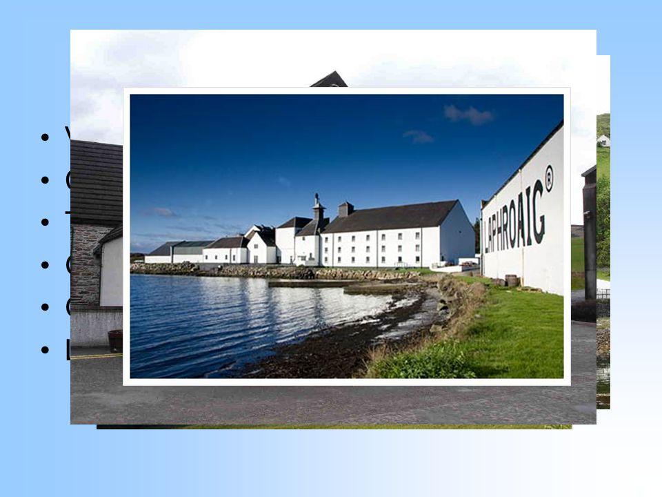 Palírny ve Skotsku Velké množství menších palíren Cardhu Talisker