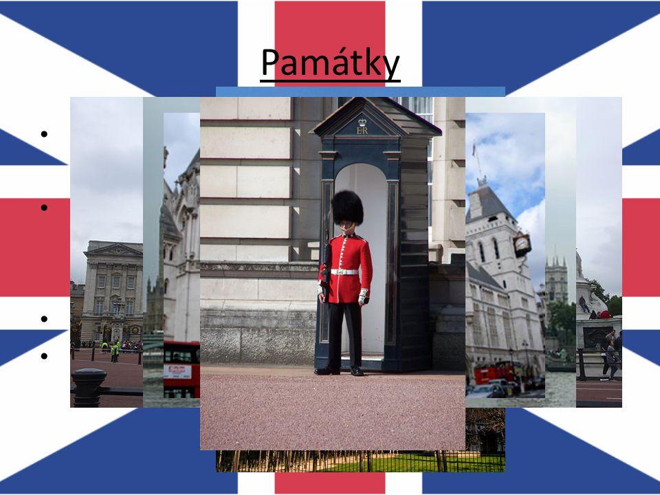 Památky Buckingham palace – sídlo královny Alžběty II.