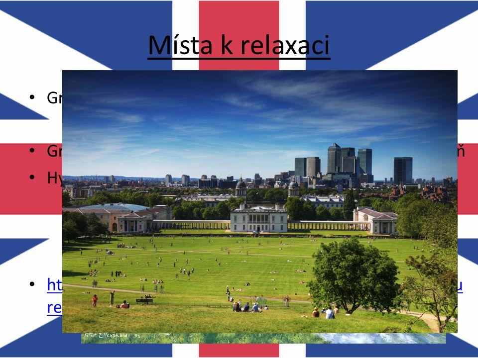 Místa k relaxaci Greenwich Park – nejstarší z královských parků
