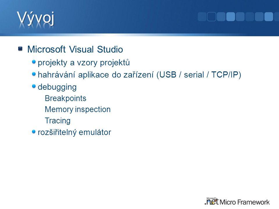 Vývoj Microsoft Visual Studio projekty a vzory projektů