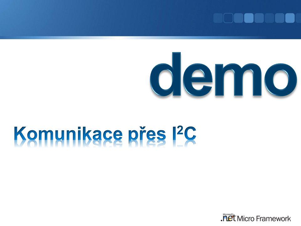 demo Komunikace přes I2C