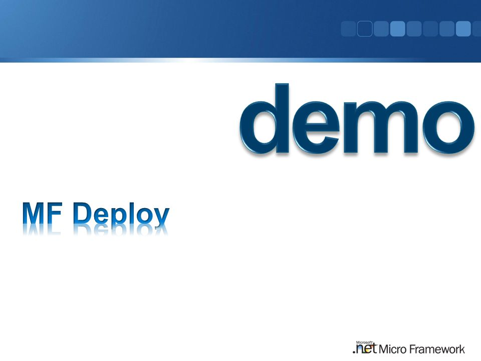 demo MF Deploy