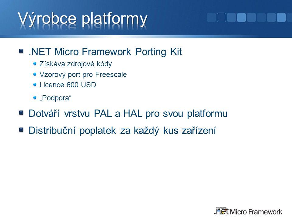 Výrobce platformy .NET Micro Framework Porting Kit