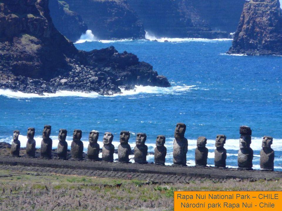 Rapa Nui National Park – CHILE Národní park Rapa Nui - Chile