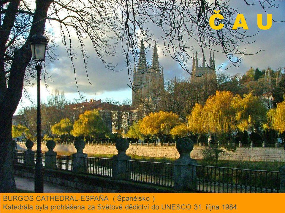Č A U BURGOS CATHEDRAL-ESPAÑA ( Španělsko )