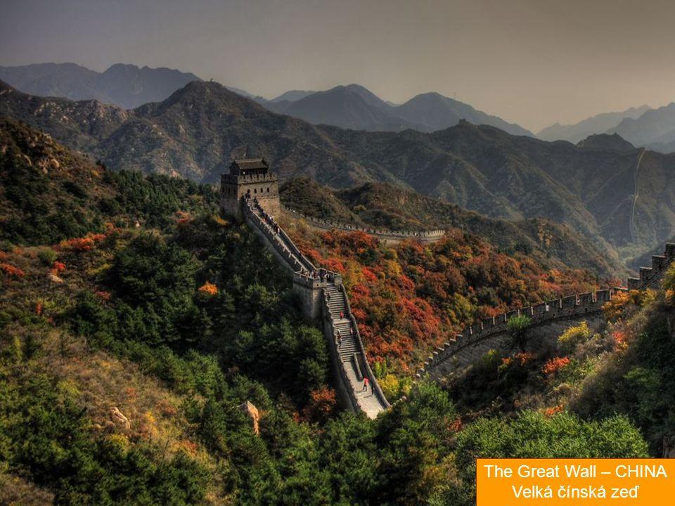 The Great Wall – CHINA Velká čínská zeď