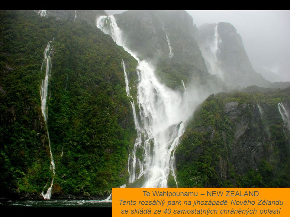 Te Wahipounamu – NEW ZEALAND