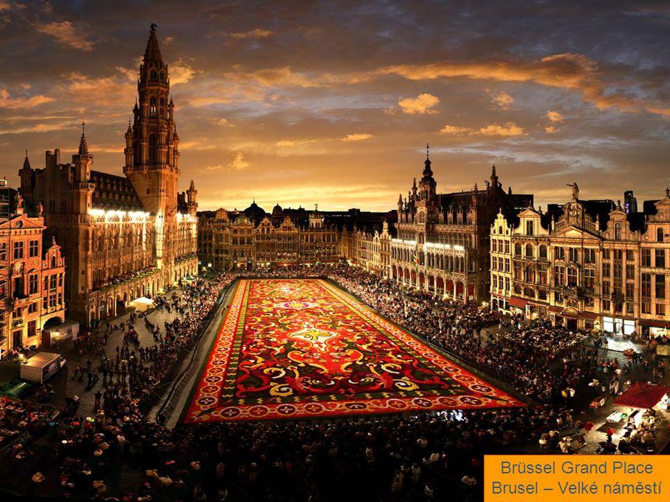 Brüssel Grand Place Brusel – Velké náměstí