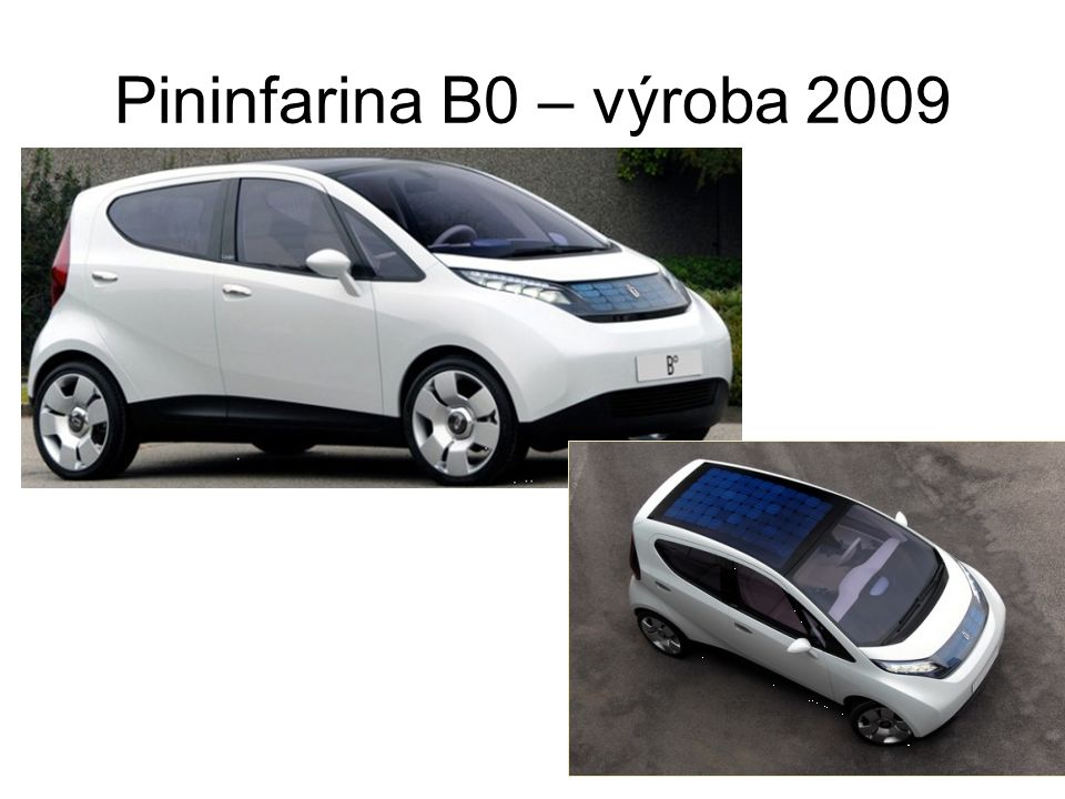 Pininfarina B0 – výroba 2009