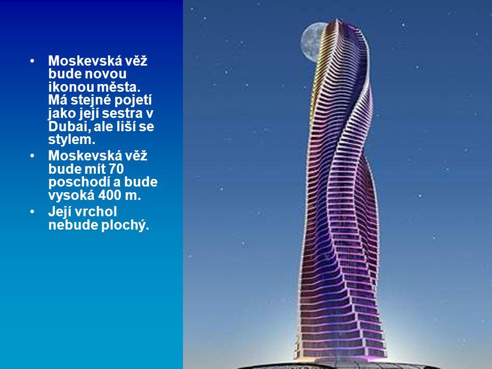Moskevská věž bude novou ikonou města