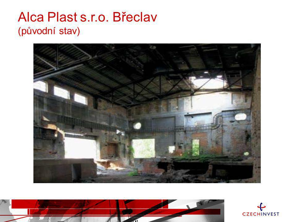 Alca Plast s.r.o. Břeclav (původní stav)