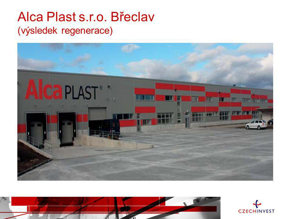 Alca Plast s.r.o. Břeclav (výsledek regenerace)