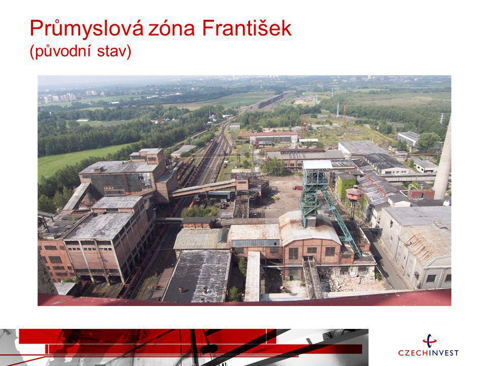 Průmyslová zóna František (původní stav)