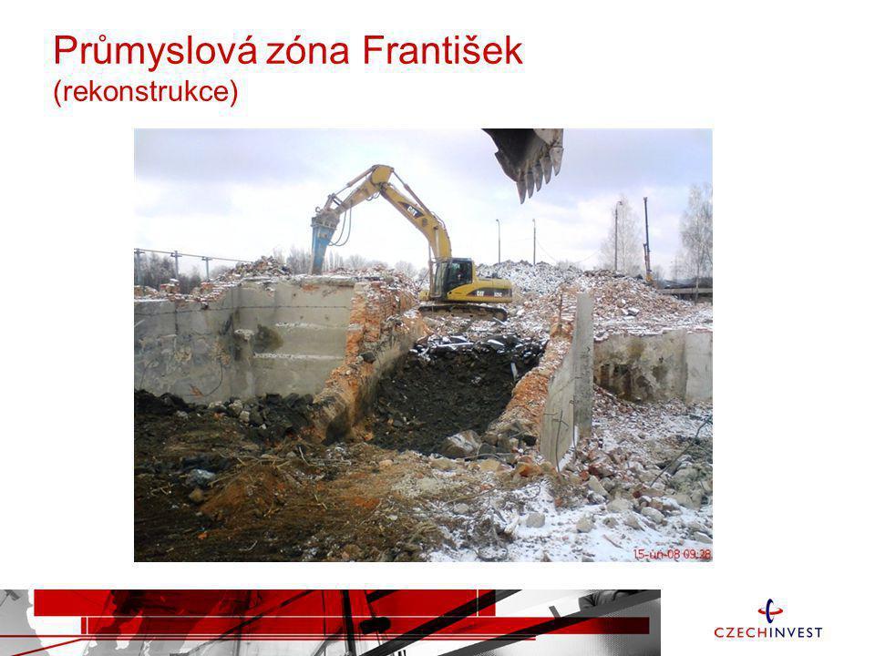 Průmyslová zóna František (rekonstrukce)