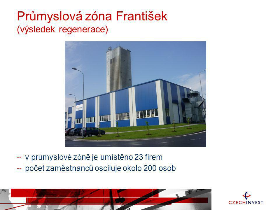 Průmyslová zóna František (výsledek regenerace)