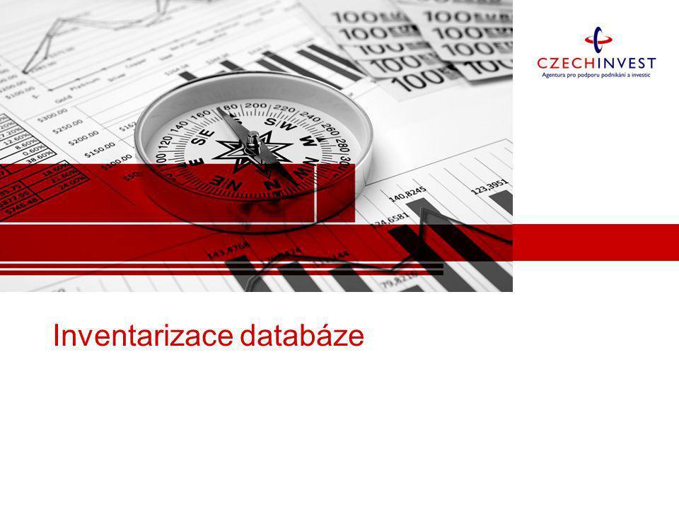 Inventarizace databáze
