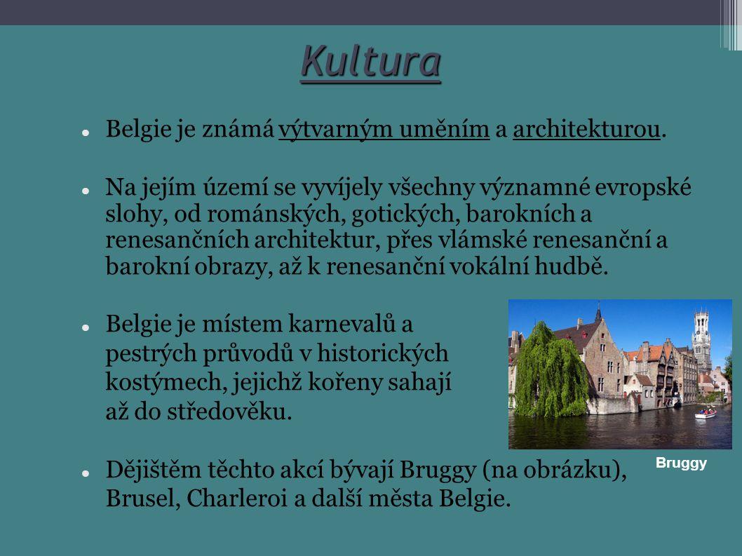 Kultura Belgie je známá výtvarným uměním a architekturou.