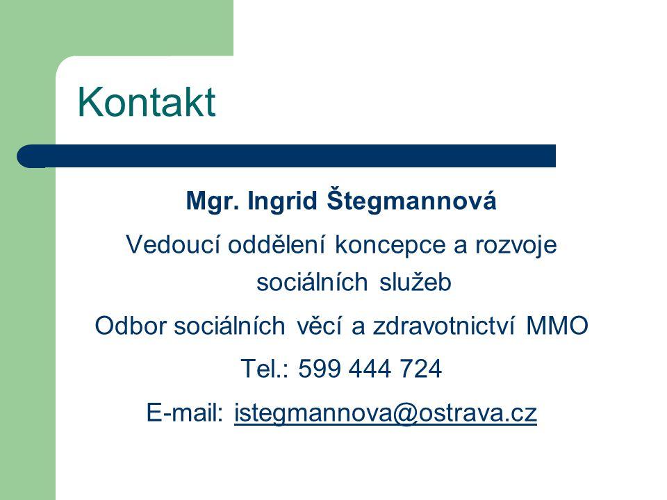 Mgr. Ingrid Štegmannová