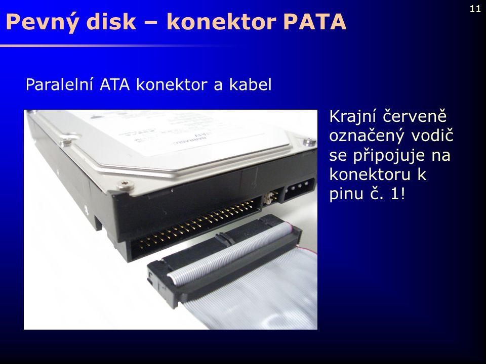 Pevný disk – konektor PATA