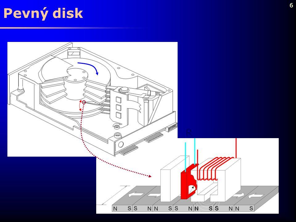 Pevný disk R W