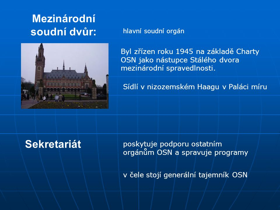 Mezinárodní soudní dvůr: