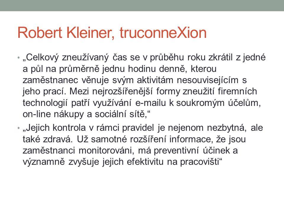 Robert Kleiner, truconneXion