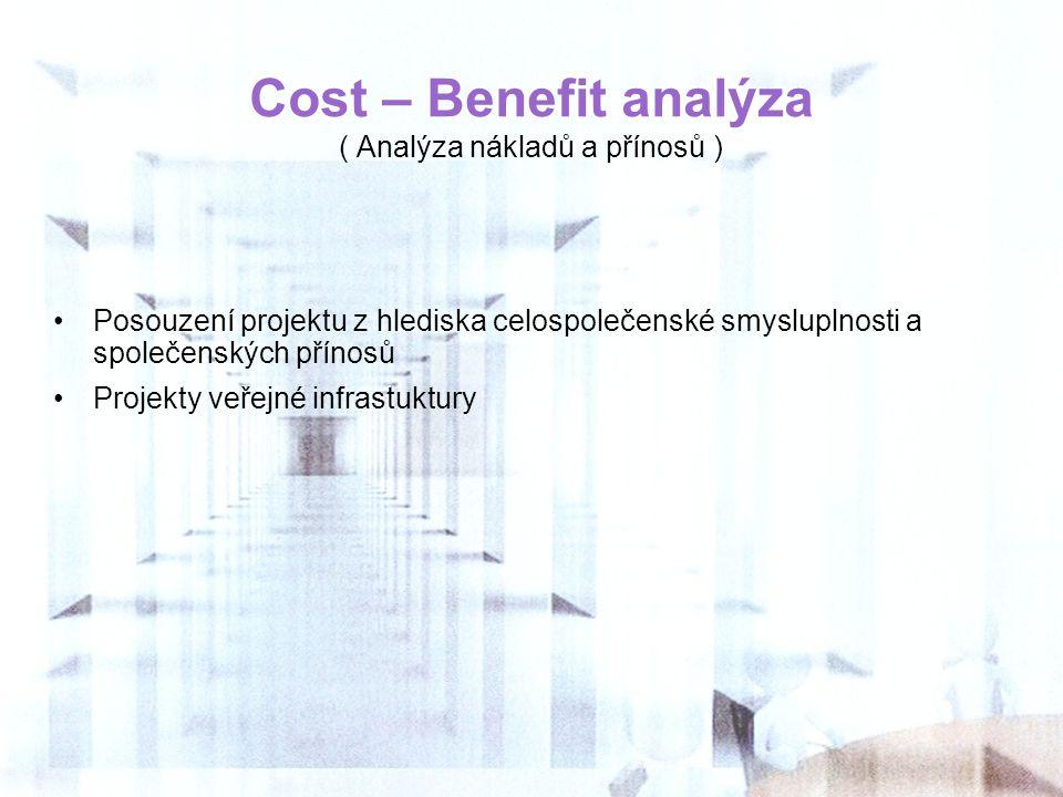( Analýza nákladů a přínosů )