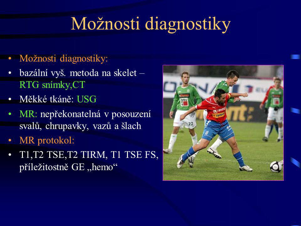 Možnosti diagnostiky Možnosti diagnostiky: