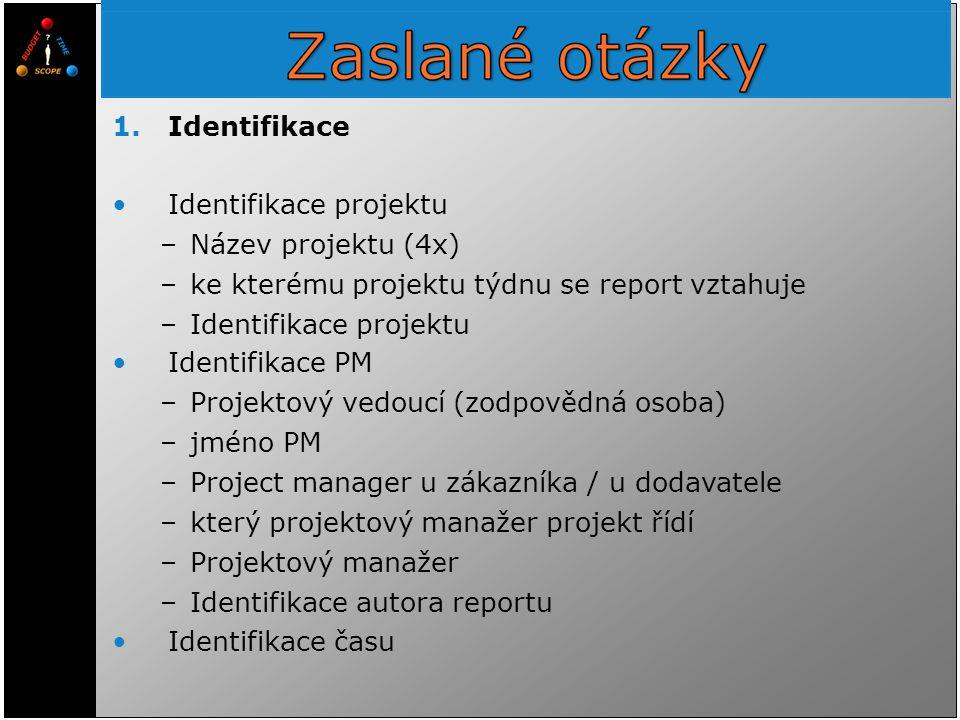 Identifikace projektu Název projektu (4x)