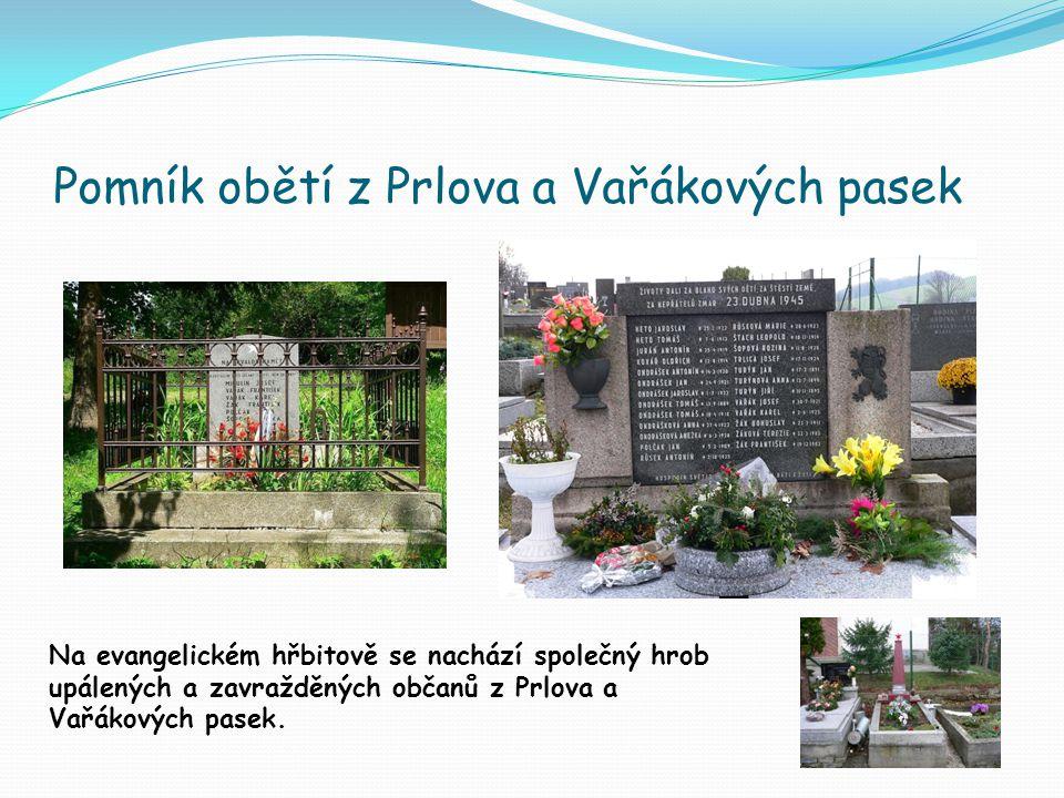 Pomník obětí z Prlova a Vařákových pasek