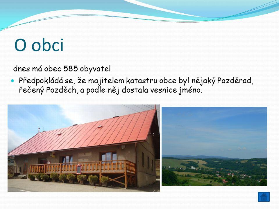 O obci dnes má obec 585 obyvatel