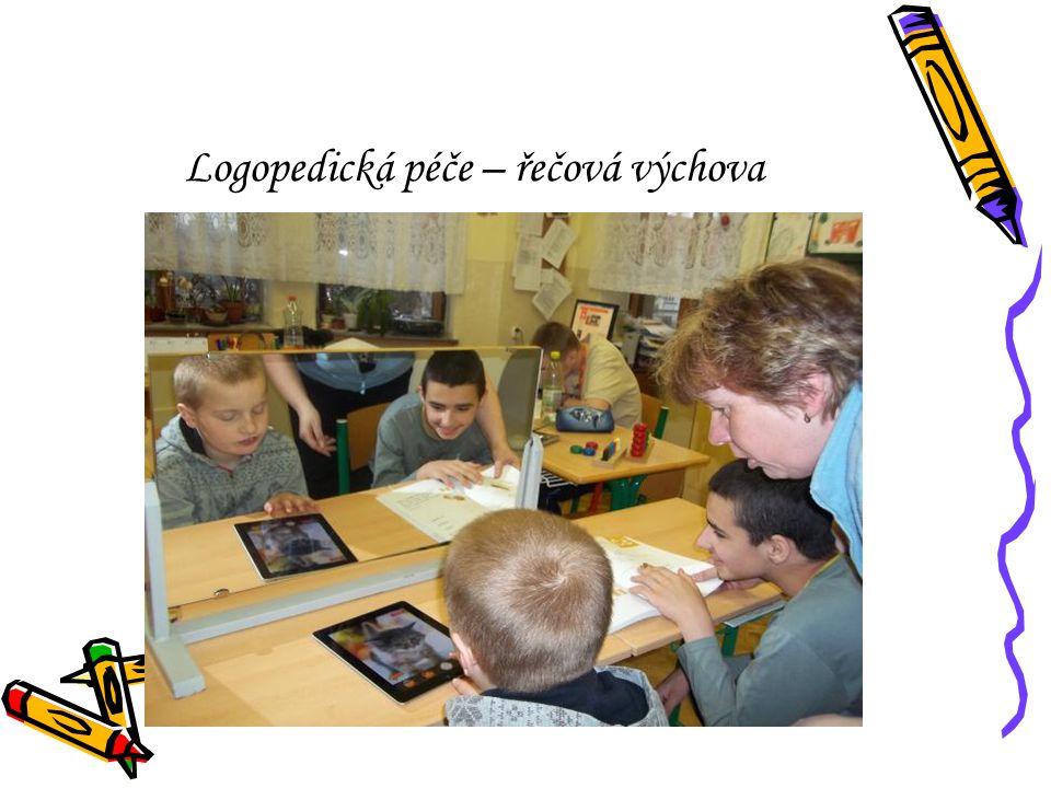 Logopedická péče – řečová výchova