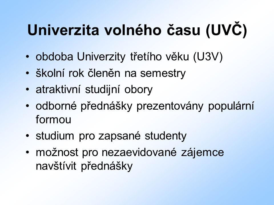 Univerzita volného času (UVČ)