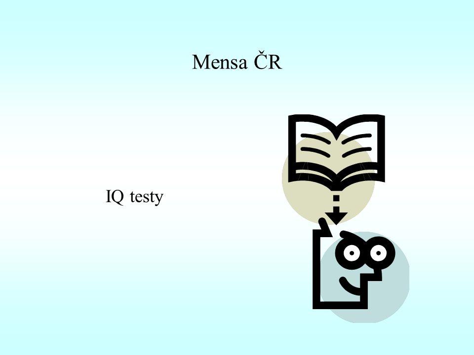Mensa ČR IQ testy
