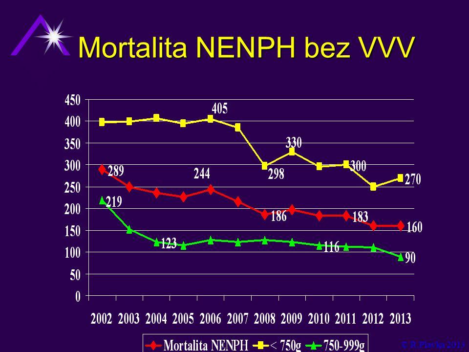 Mortalita NENPH bez VVV