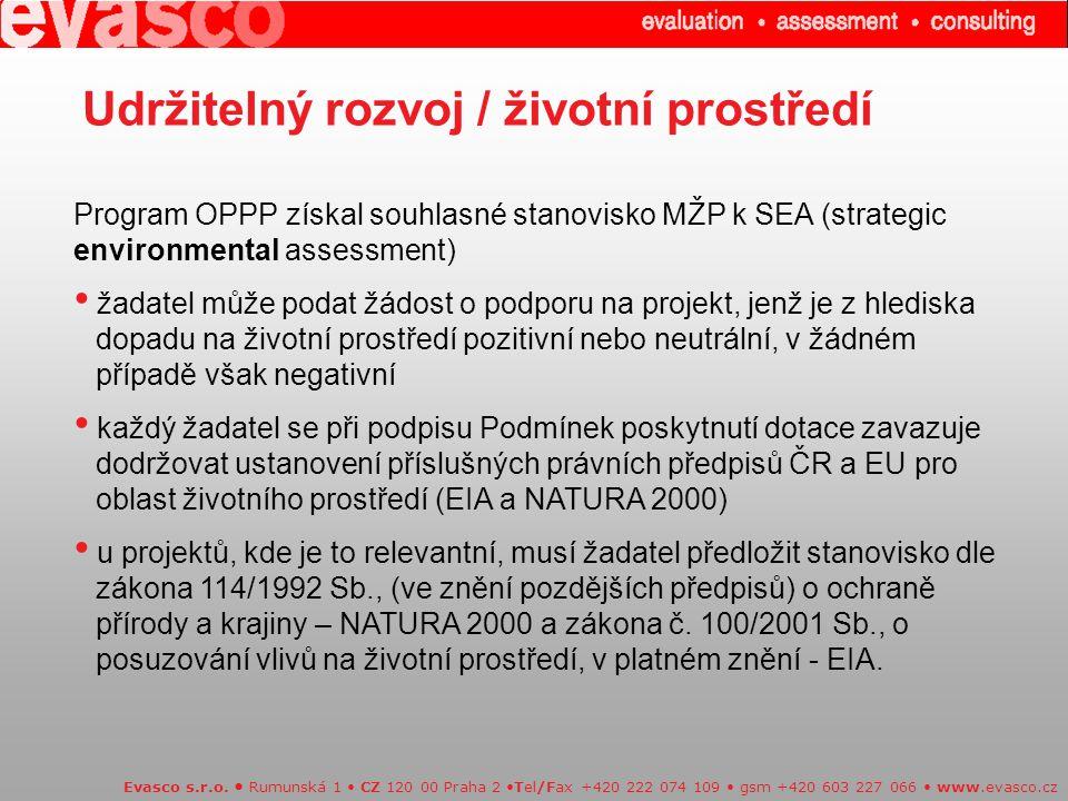 Udržitelný rozvoj / životní prostředí