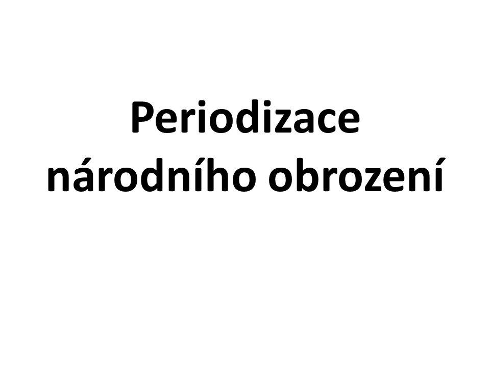 Periodizace národního obrození