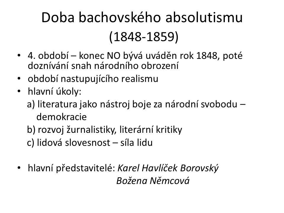 Doba bachovského absolutismu (1848-1859)