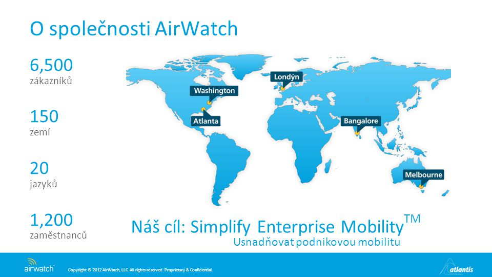 O společnosti AirWatch