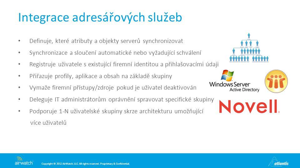 Integrace adresářových služeb