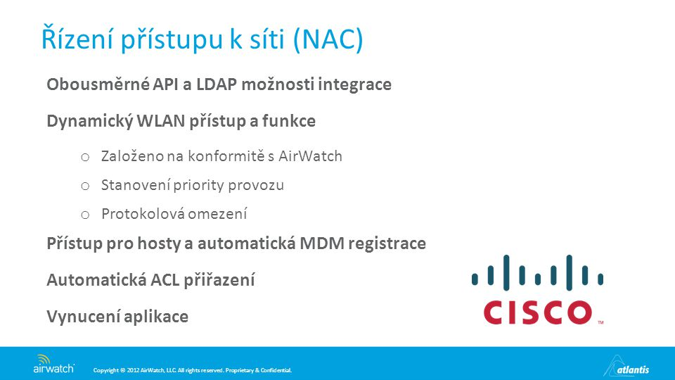 Řízení přístupu k síti (NAC)