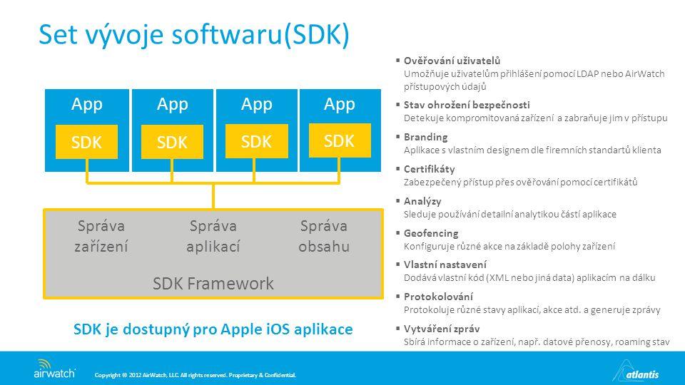 Set vývoje softwaru(SDK)