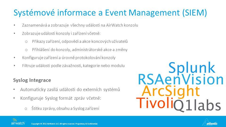 Systémové informace a Event Management (SIEM)