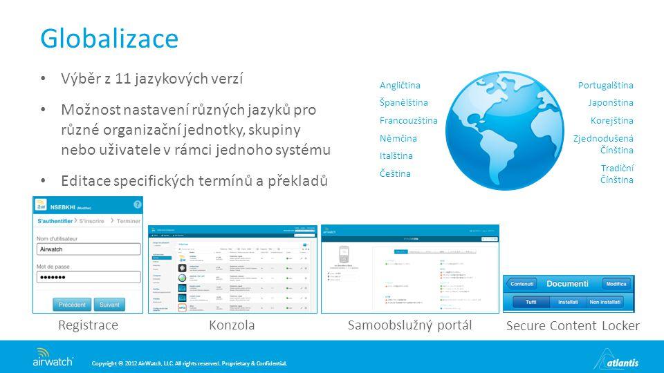 Globalizace Výběr z 11 jazykových verzí