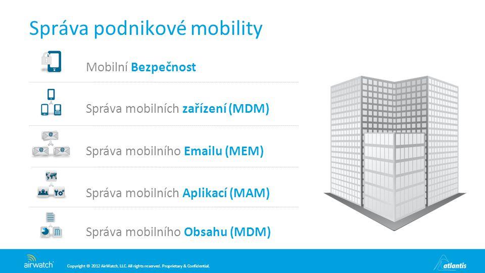 Správa podnikové mobility